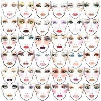 Таблица идей для макияжа