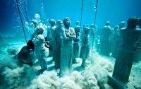 Подводный музей скульптур в Мексике