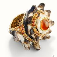 Кольцо из ракушки