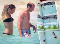 Эксклюзивные фото Кейт Мидлтон и принца Уильяма на отдыхе