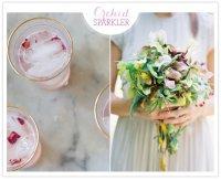 Напитки на свадьбу: шипучая орхидея
