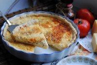 Сырный пирог со сливочным сыром Буко
