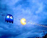 Освещение в стиле Pac-Man