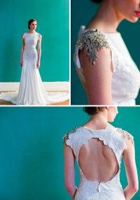 Свадебное лпатье от Carol Hannah