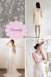 Свадебные платья из кружева Шантильи
