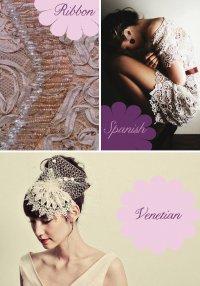 Свадебные платья из ленточных кружев