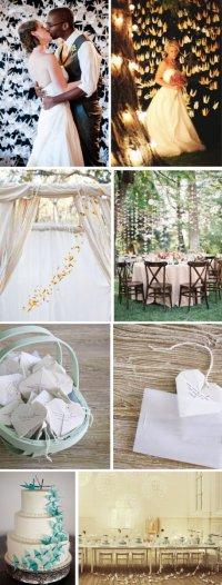 Идеи для свадеб: оригами