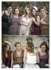 Винтажный девичник перед свадьбой