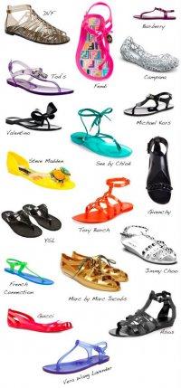Тренд сезона: «Желейные» сандалии