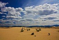 Карта пустынь: Чарские пески Забайкалья
