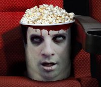 Стакан для попкорна: приятного просмотра