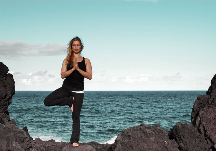 Асаны йоги: Врикшасана (поза дерева)
