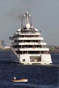 Самая большая частная моторная яхта в мире