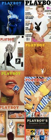 Журнал Playboy и сборник его лучших обложек