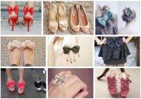 Как использовать бантик в одежде и обуви?