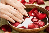 Ванночки для ногтей: йод и масло