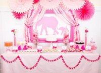 Baby shower: идеи для тематических вечеринок по поводу рождения малыша. Розовый слон