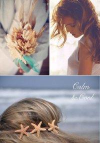 Украшения для свадьбы в морском стиле