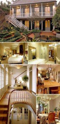 Дома знаменитостей: Брэд Питт и Анджелина Джоли