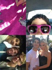 Фото с церемонии Teen Choice Awards 2012 из фейсбука Даррена Крисса