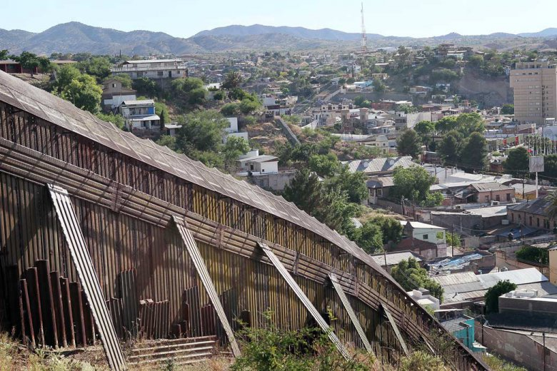 Охрана государственной границы: Америка и Мексика