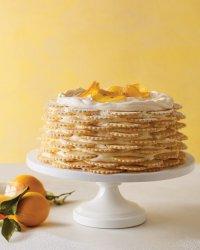Лимонный торт