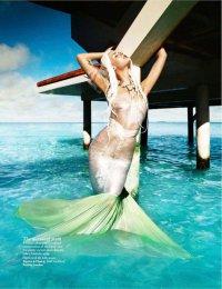 Как стать русалкой: платье русалки