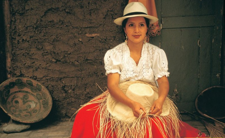 Виды шляп: панама