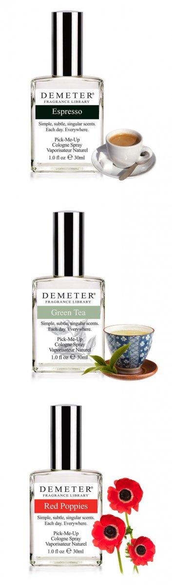 Demeter - библиотека ароматов