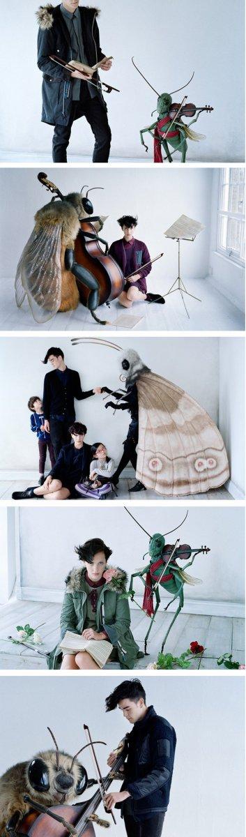 Последняя коллекция Uniqlo от Юн Такахаси