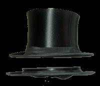 Виды шляп: шапокляк
