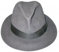 Виды шляп: федора