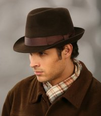 Виды шляп: трилби
