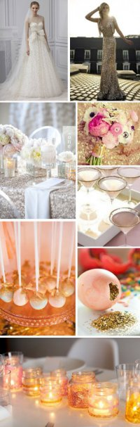 Блестящая свадьба