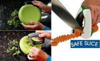 Необычные приспособления для кухни: безопасные ножи