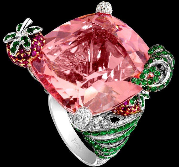 Коктейльные кольца Piaget: Маи Таи