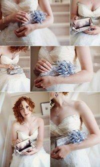 Идеальный клатч для невесты