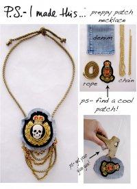 «Пиратское» ожерелье