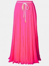 С чем носить юбку цвета фуксии?