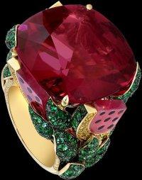 Коктейльные кольца Piaget: Арбузная мечта