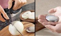 Полезные предметы на кухне: держатель для лука