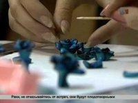 Как сделать розы из полимерной глины?