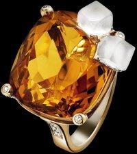 Коктейльные кольца Piaget: whisky on the rocks