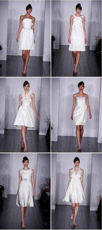 Короткие платья дла невест