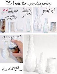 Фарфоровые вазочки своими руками