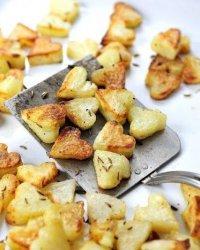 Запеченный картофель с тмином