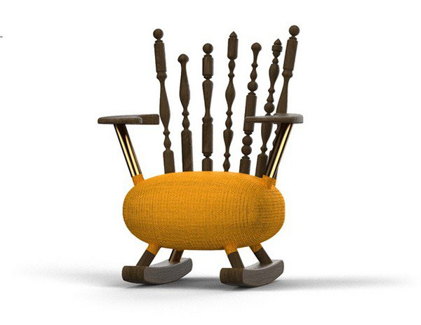Экспериментальный стул Design & Chaos