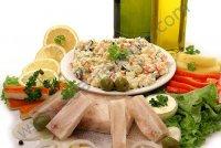 Не дорогой праздничный салат
