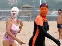 Китайское ноу-хау: купальник для лица Face-Kini