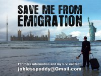 Креативные резюме: «Спасите меня от эмиграции»